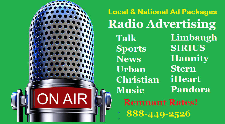 Rates to Advertise on Top 10 stations - advertising   888-449-2526